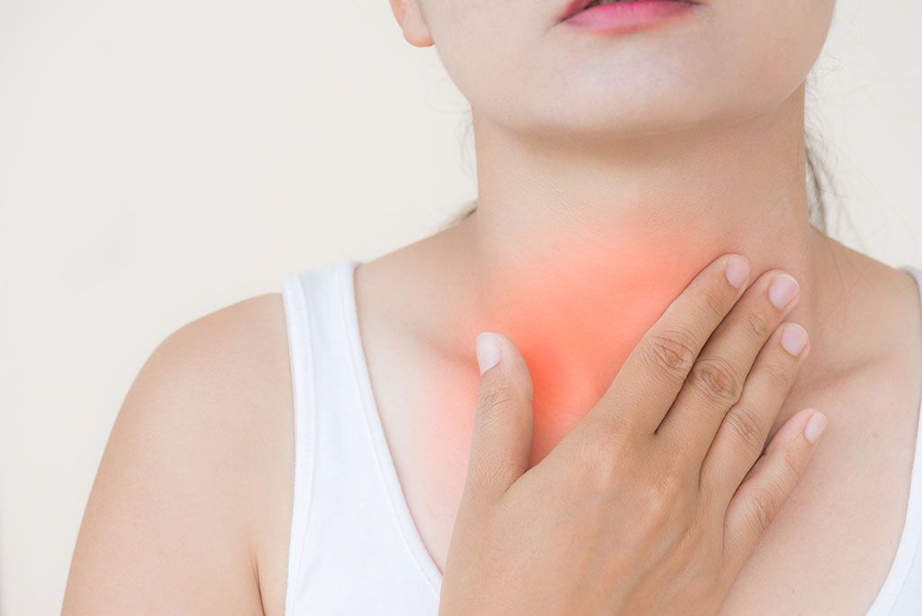 Throat and ear pain